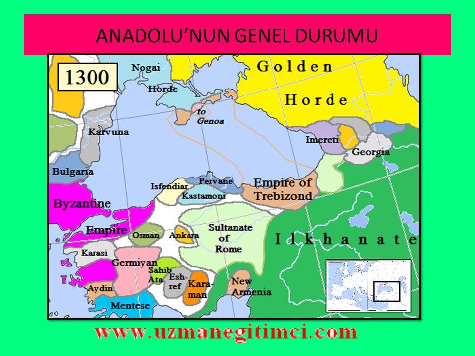ORTA DO Ğ U Mısır merkezli kurulmuş olan Memlük (Kölemen) devleti bölgenin güçlü devletlerinden biriydi.Sultan Baybars döneminde hem Moğol ilerleyişini durdurmayı başarmış hem de en parlak dönemlerini yaşamışlardır.Abbasi hilafetini korumaları altına aldıkları için de İslam dünyasında saygın bir konumları mevcuttu.