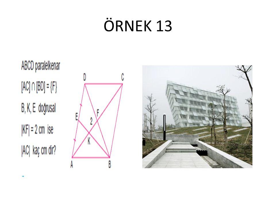 ÖRNEK 13