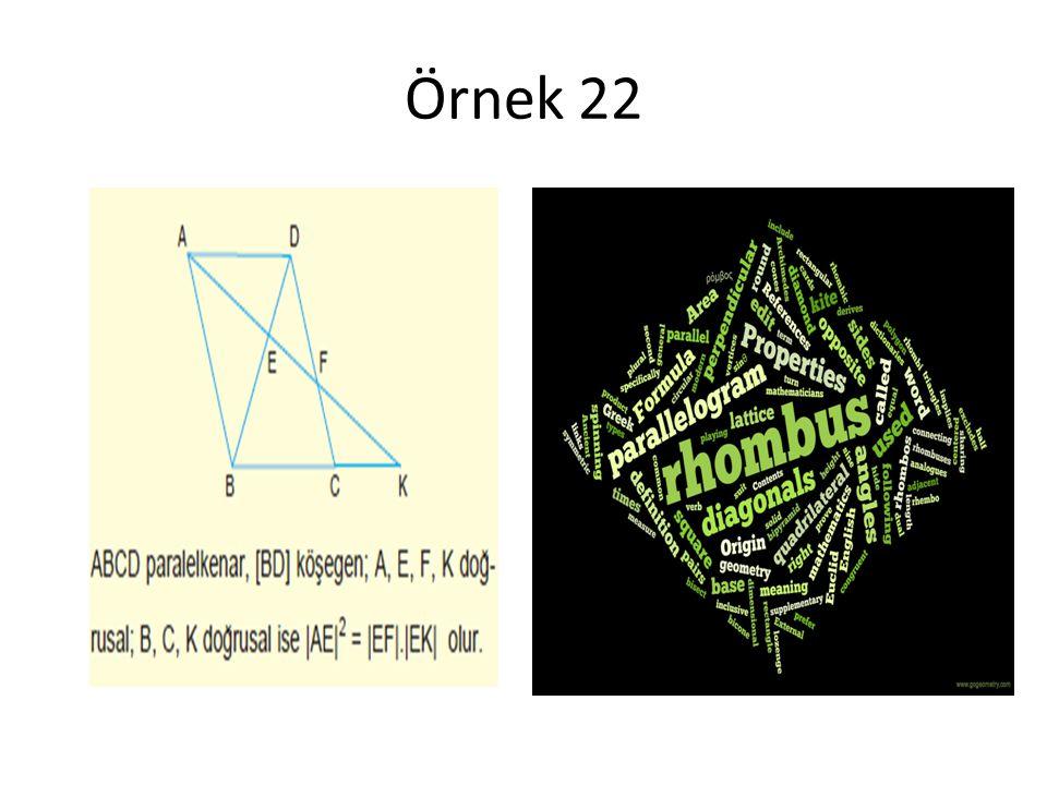 Örnek 22