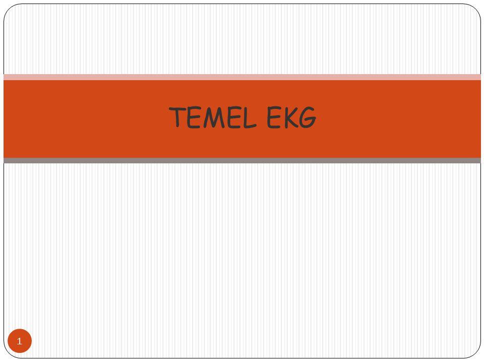 1 TEMEL EKG