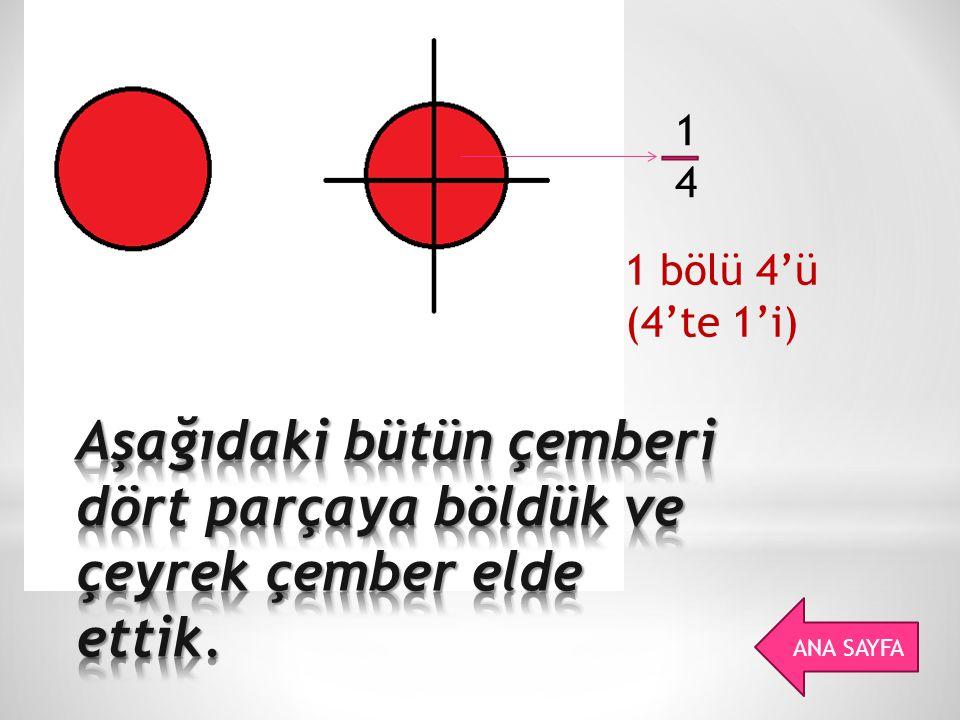 I.Payı paydasından küçük olan kesirlere basit kesir denir.