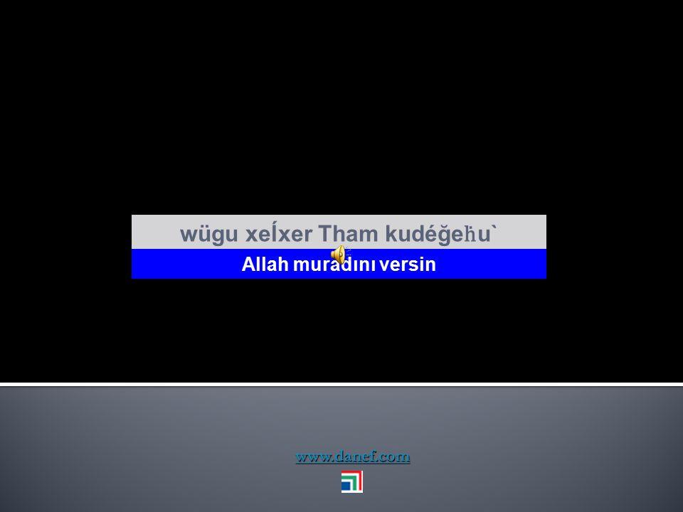 www.danef.com wujıpker Tham mafe yeşı` Başın sağ olsun