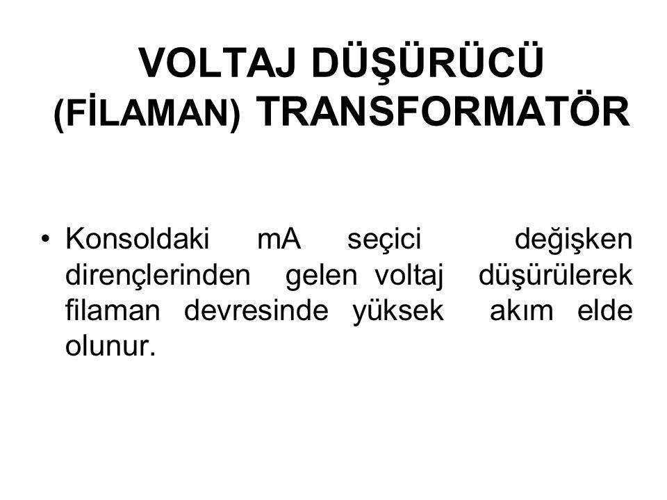 YÜKSEK VOLTAJ TRANSFORMATÖRÜ İkinci taraftaki sargı oranı ile orantılı olarak voltajı yükseltir. Konvansiyonel transformatörlerde sargı oranı 500-1000