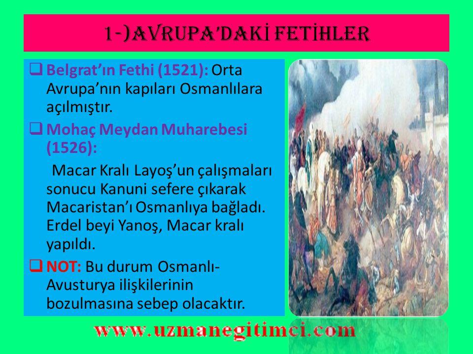KANUN İ SULTAN SÜLEYMAN DÖNEM İ (1520-1566)  İç İsyanlar:  Canberdi Gazali İsyanı (1521): Şam-Siyasi  Ahmet Paşa İsyanı (1524) : Mısır-Şahsi  Baba Zünnun İsyanı (1526): Yozgat- Ekonomik  Kalenderoğlu İsyanı (1527): Karaman-Dini