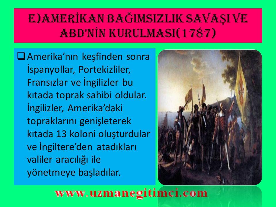 İ NSAN HAKLARI B İ LD İ R İ S İ  XVII. yy mutlakiyetle özgürlük hareketlerinin mücadelesine sahne olmuştur.  Tarihin ilk İnsan Hakları Bildirisi 168