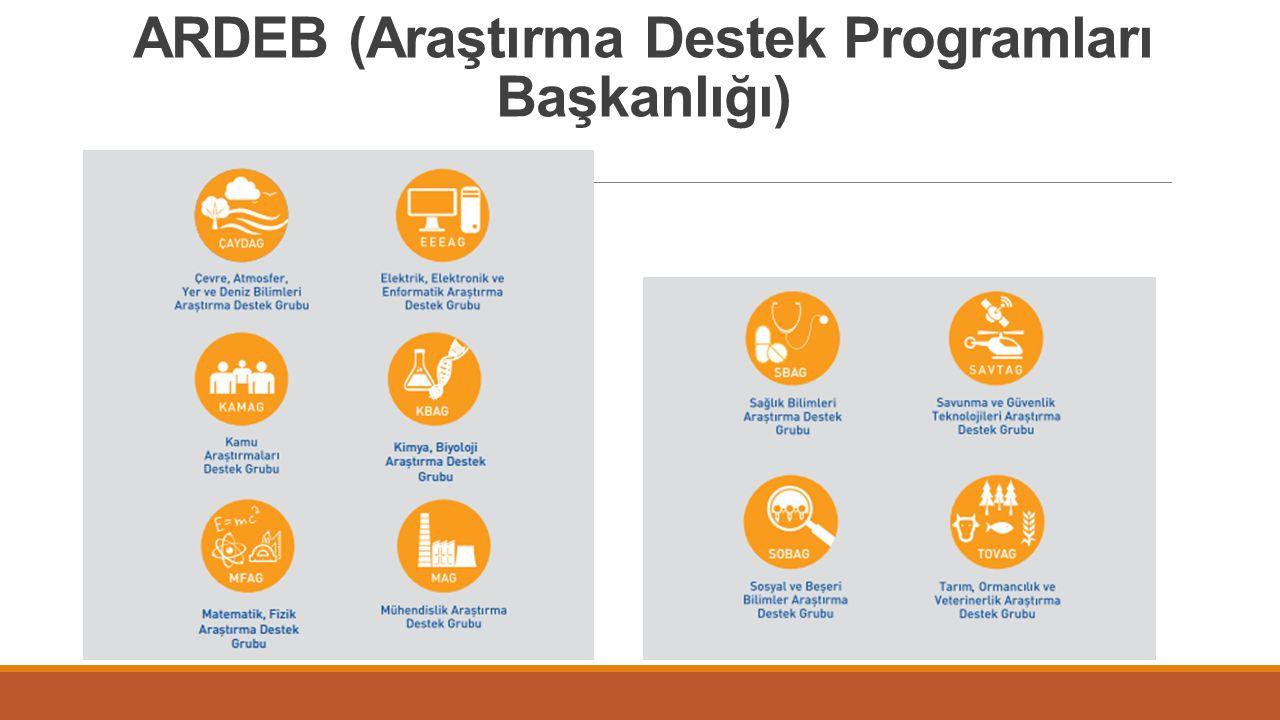 ARDEB (Araştırma Destek Programları Başkanlığı)