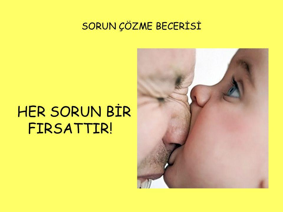 SORUN ÇÖZME BECERİSİ HER SORUN BİR FIRSATTIR!