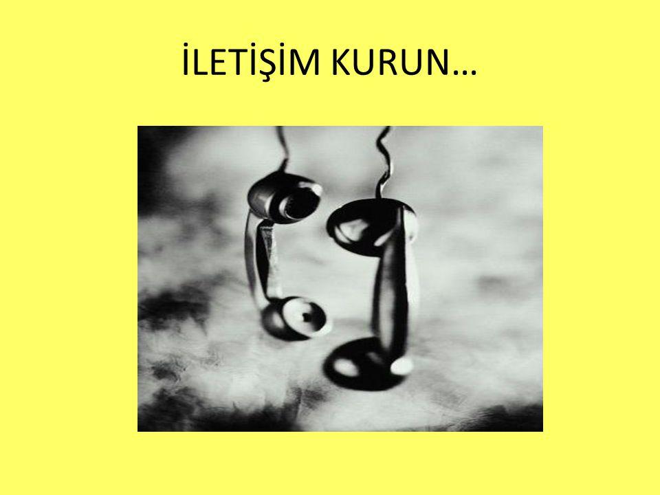 İLETİŞİM KURUN…