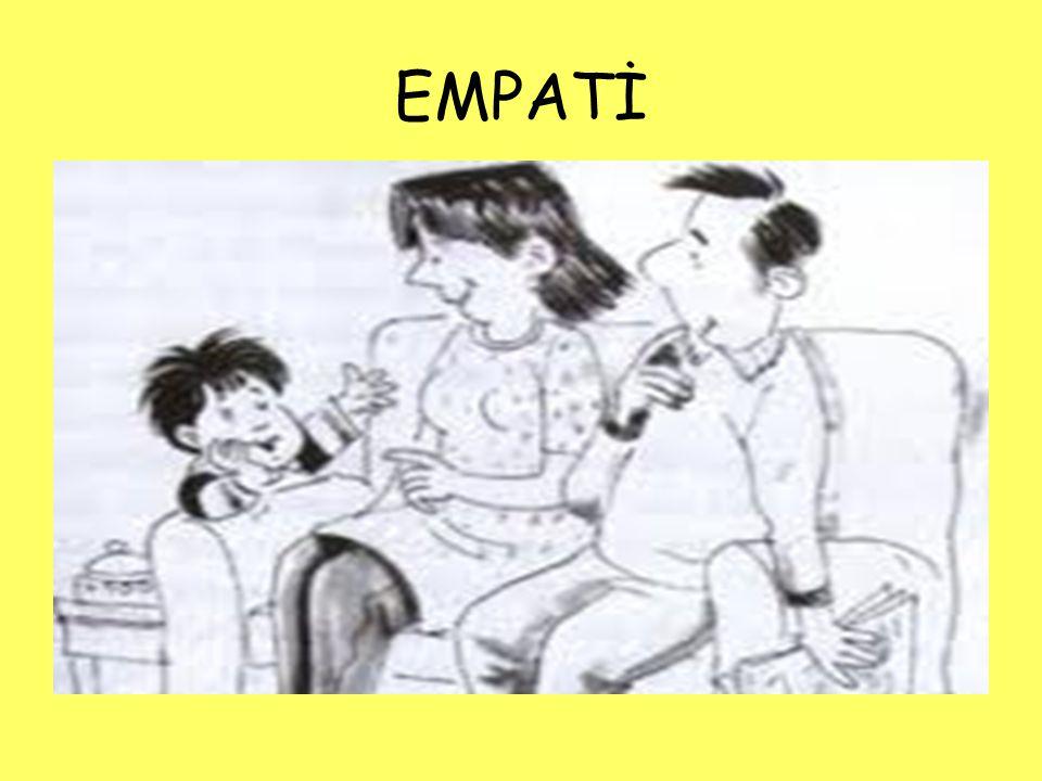 Çocukları etkin olarak dinlerken, bir ebeveynin gereksinimi olan en önemli yetenek empatidir.