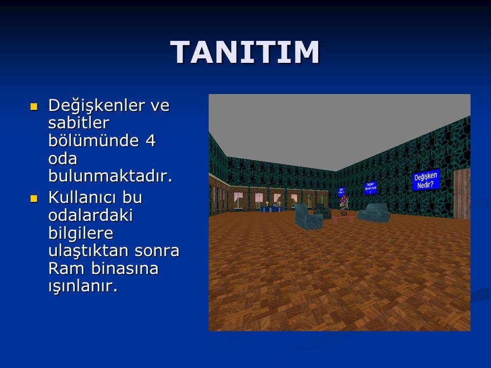 TANITIM Ram binasındaki soruları yanıtlayarak Ram binasındaki soruları yanıtlayarak rüyadan uyanır.