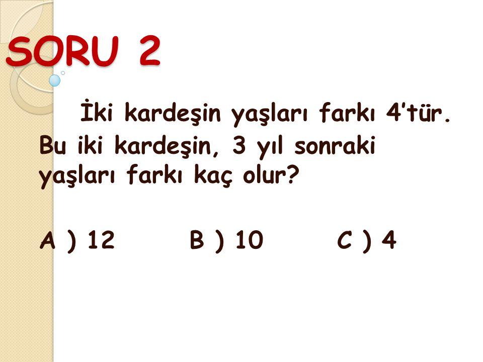 CEVAP 1 B) 505