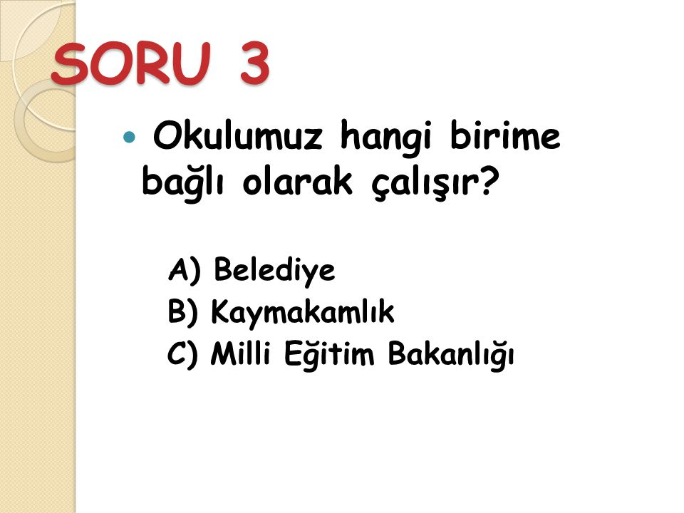 CEVAP 2 C) Mehmet Akif Ersoy - 41