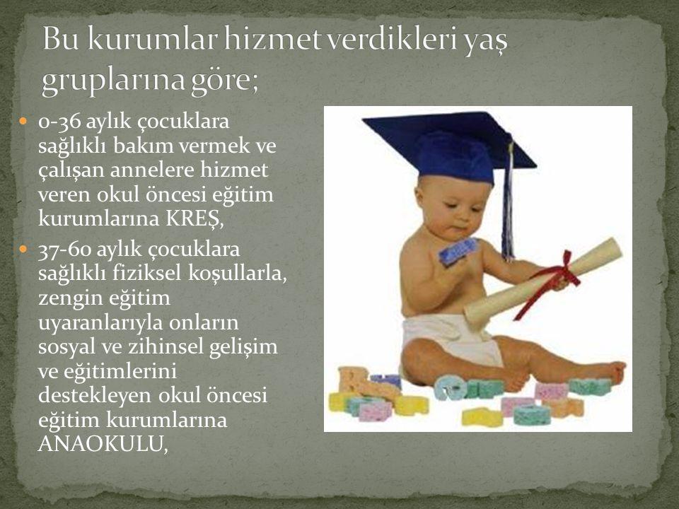● Çocuğun doğal gelişimini temel alarak gelişimle ilgili tecrübelerine önem vermek (Aral ve diğerleri, 2002, s:13).