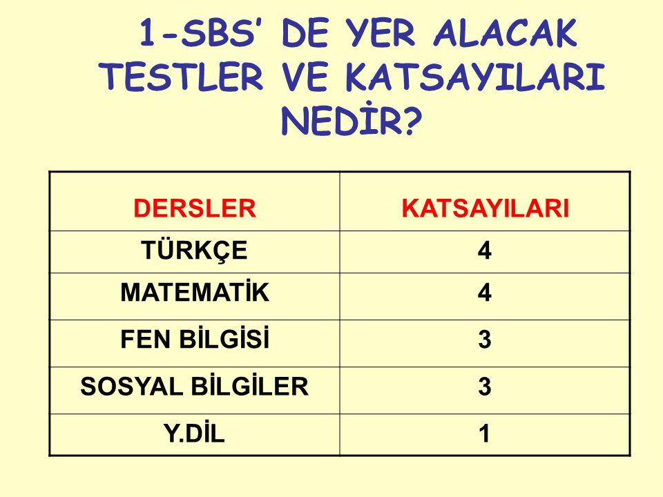 10 SORUDA SBS'Yİ ÖZETLEYELİM