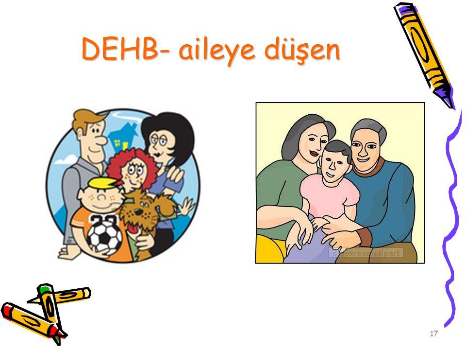 17 DEHB- aileye düşen