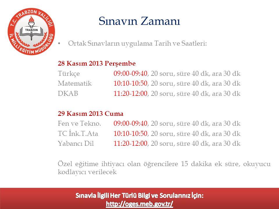 Sınav öncesi Ankara'dan gelecek soruların teslim alınması, (25 Kasım 2013 Pazartesi teslim alındı) Sınav planlaması, bina sınav komisyonu, il yöneticisi ve öğretmen görevlendirilmeleri, Sınav öncesi, sınav uygulaması ve sınav sırasında emniyet birimleri ile işbirliği yapıldı.