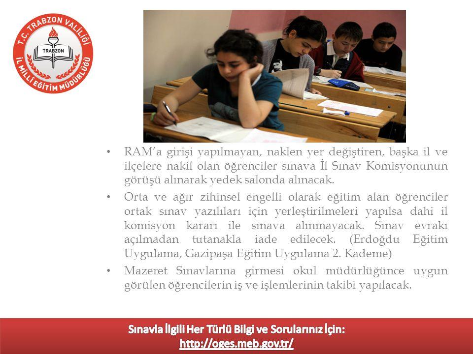 Okul Müdürlüklerinin Yapacakları Veli ve öğrencilere sınavla ilgili bilgilendirme yapılacak, veli ve öğrenci mektupları ulaştırılacaktır.