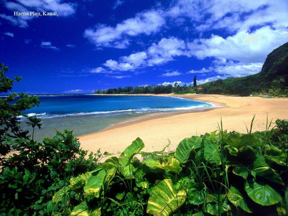 Haena Plajı, Kauai,
