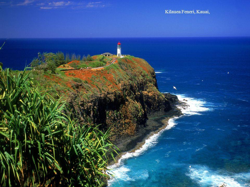 Kilauea Feneri, Kauai,
