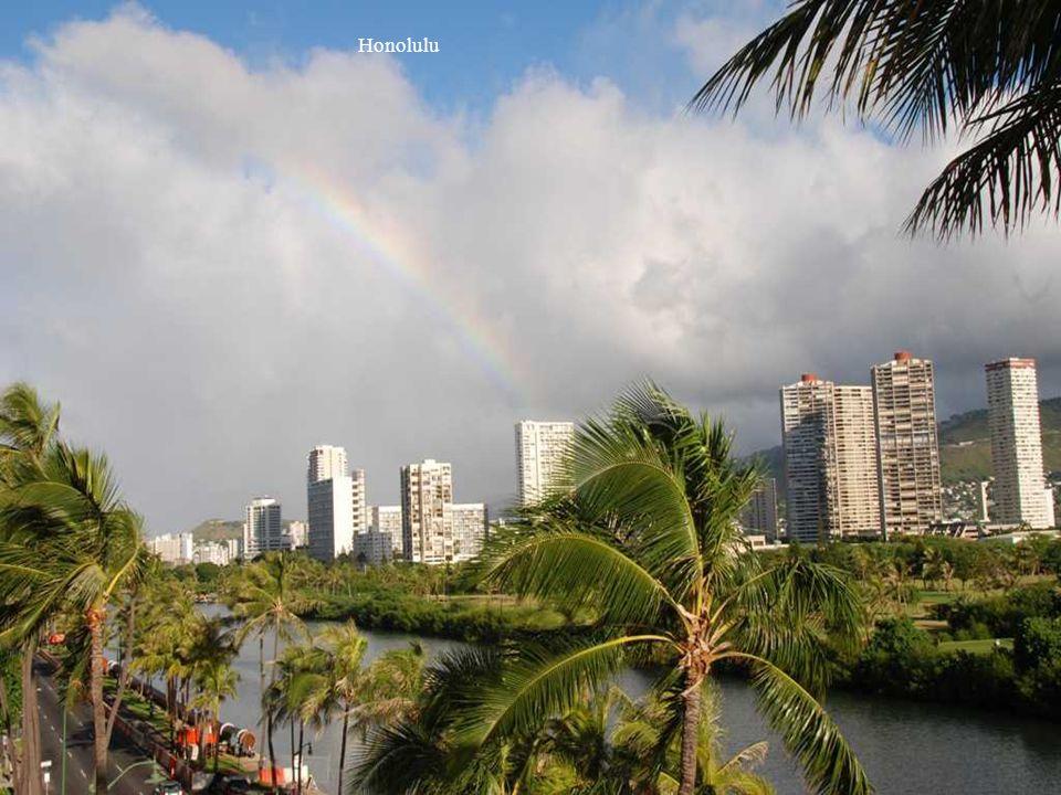 Waimea Çağlayanı, Oahu,