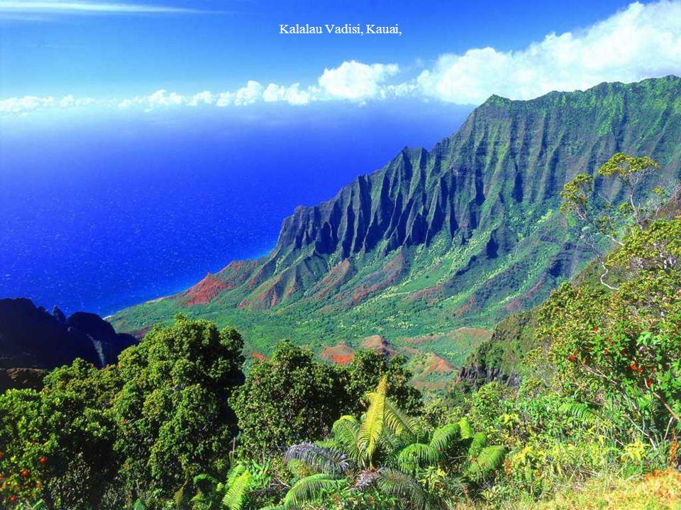 Kalalau Vadisi, Kauai,