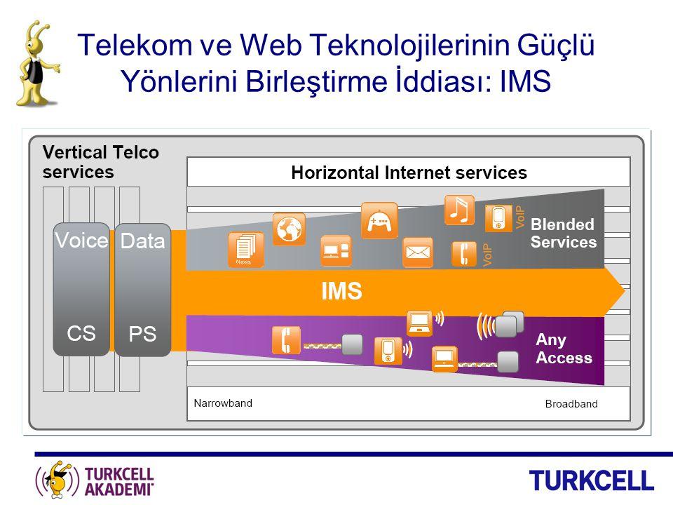 Telekom ve Web Teknolojilerinin Güçlü Yönlerini Birleştirme İddiası: IMS