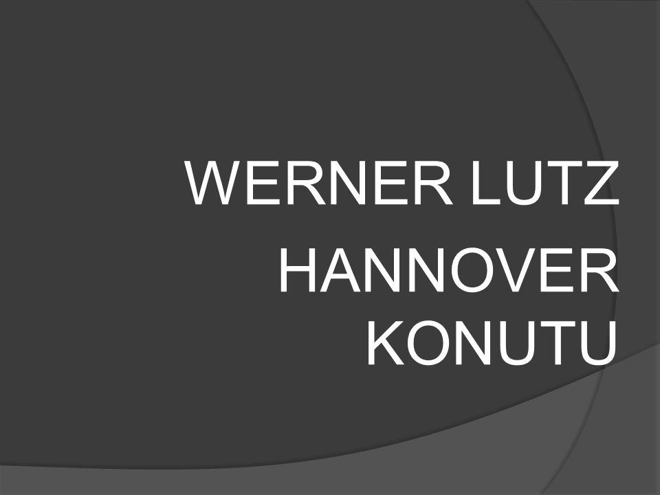 WERNER LUTZ HANNOVER KONUTU
