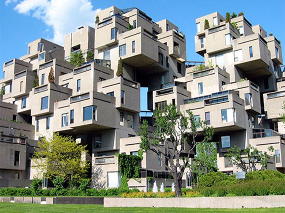 1961 yılında Moshe Safdie, McGill Universitesindeki öğrenciliğinde bir proje hazırlar.