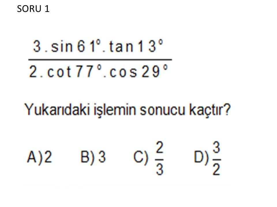 SORU 1