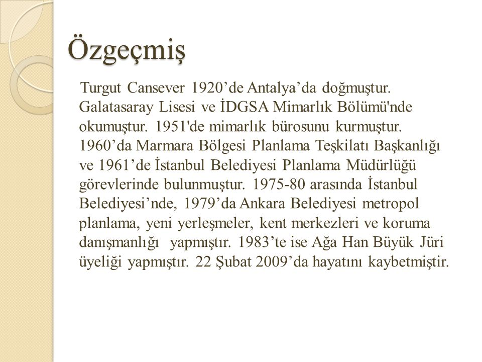 Kaynakça Osmanlı Şehri-Turgut Cansever Kubbeyi Yere Koyamamak-Turgut Cansever