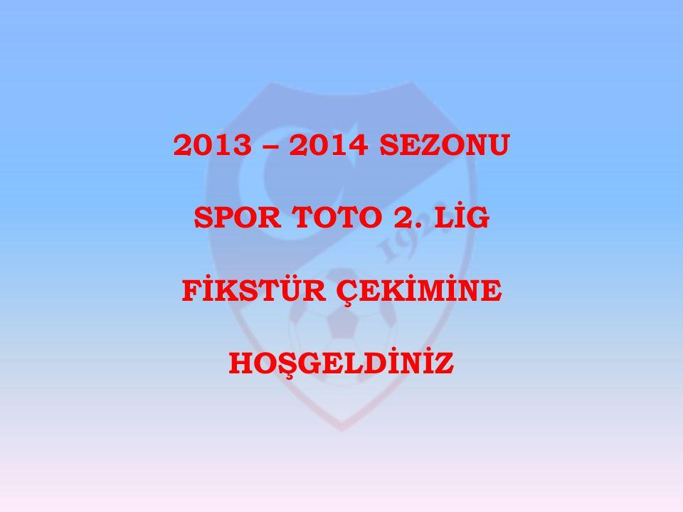 2013 – 2014 SEZONU SPOR TOTO 2.