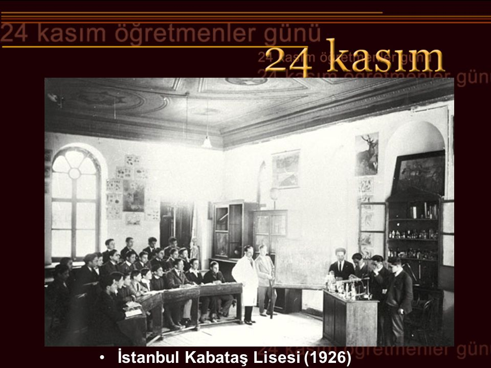 İstanbul Kabataş Lisesi (1926)