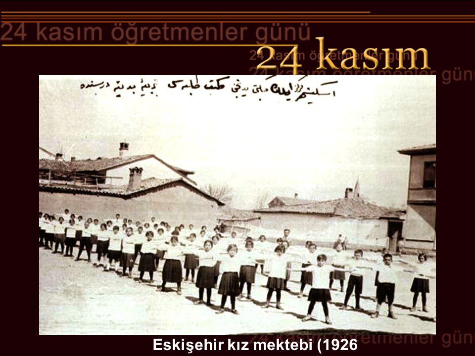 Eskişehir kız mektebi (1926