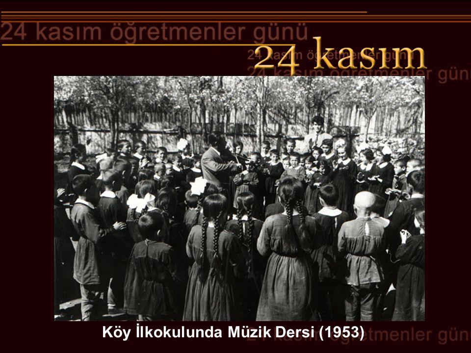 Adana İsmet Paşa Kız Enstitüsü (19 Kasım 1937) Milletleri kurtaranlar yalnız ve ancak öğretmenlerdir.