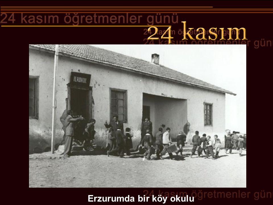 Erzurumda bir köy okulu