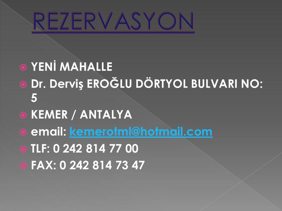  YENİ MAHALLE  Dr.