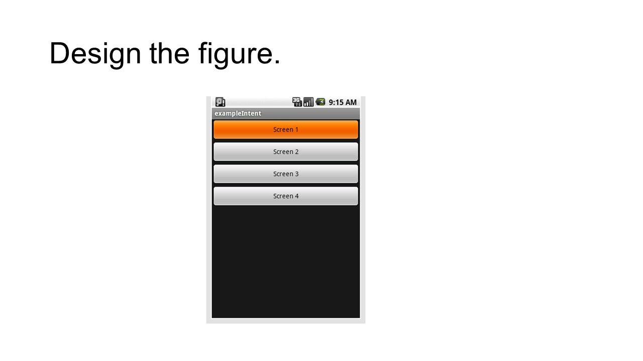 Ikinci sayfamizi olusturuyoruz.Bu sayfada iki tane button ve bir adet te textview nesnesi mevcuttur.