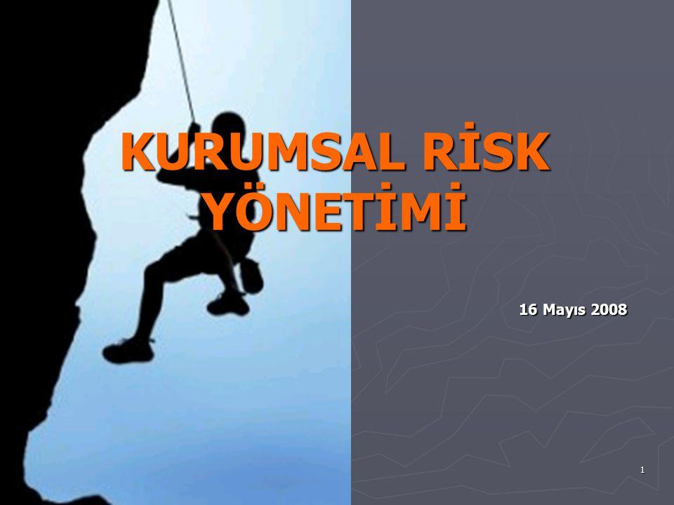 12 Kurumsal Risk Yönetim Dönüşüm Süreci