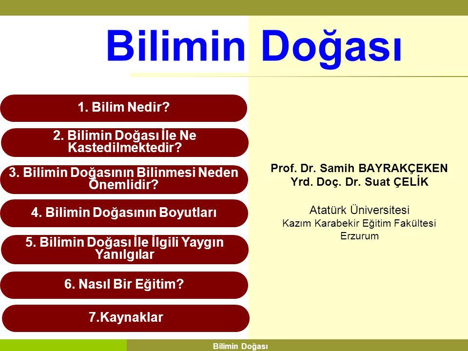 4.1. Bilimsel bilgi olgusal temellidir. 4. 2. Yasalar ve teoriler farklı türden bilgilerdir.