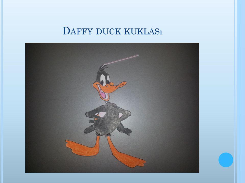 D AFFY DUCK KUKLASı