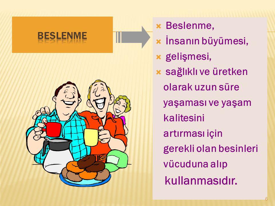 BESLENME 7