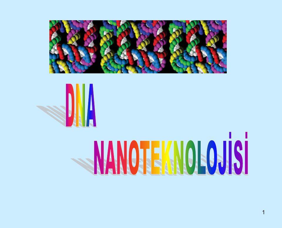 12 DNA NANOTEKNOLOJİSİ NEREYE GİDİYOR.