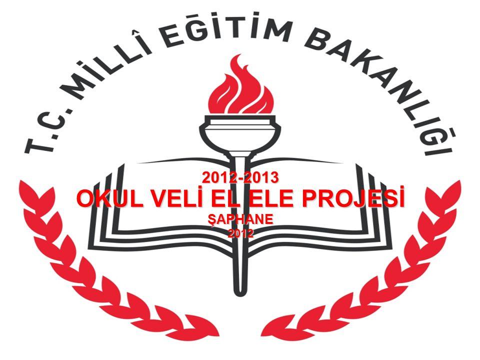 2012-2013 OKUL VELİ EL ELE PROJESİ ŞAPHANE 2012