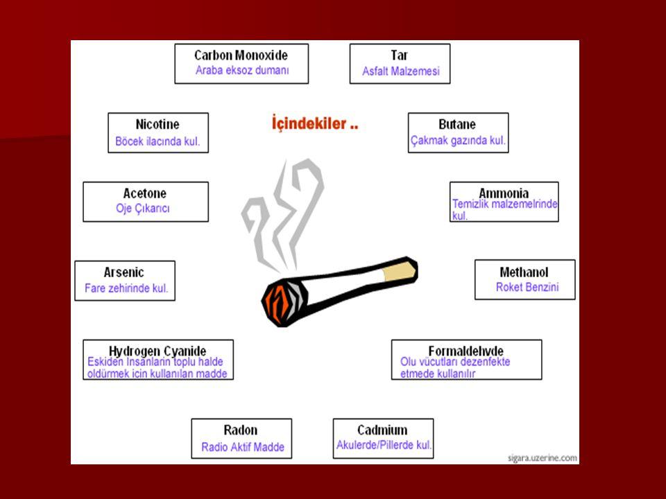 Sigara insanı kendine tutsak eder Sigara insanı kendine tutsak eder Bağımlılıktan sonra gelirinize ortak olur Bağımlılıktan sonra gelirinize ortak olur Zamanınızın ve sağlığınızın en sinsi düşmanıdır Zamanınızın ve sağlığınızın en sinsi düşmanıdır Sigara içilirken yanına arkadaşlık eden, Sigara içilirken yanına arkadaşlık eden, en az sigara kadar zararlı olan içkidir en az sigara kadar zararlı olan içkidir