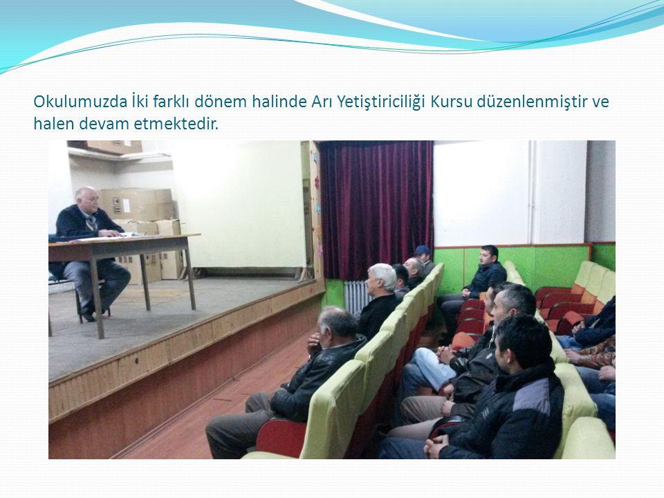 Okulumuzda Emlakçılık ve Çobanlık ve Sürü Yönetimi kursu düzenlenmiştir ve halen devam etmektedir.