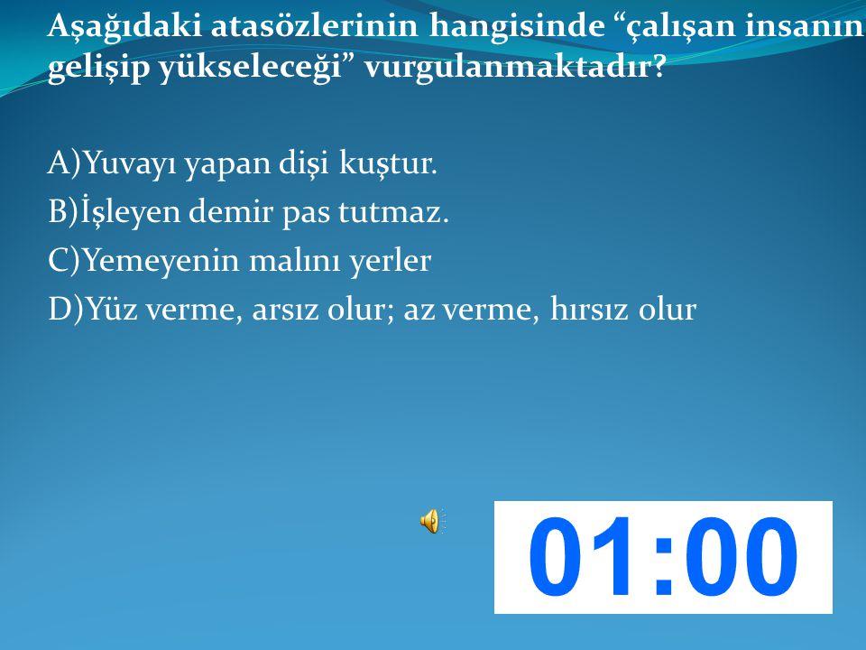 SORU: 1 – GENEL KÜLTÜR Aşağıdakilerden hangisi Mardin yöresine ait yemeklerden biridir.