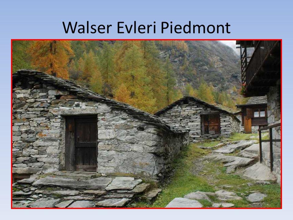Walser Evleri Piedmont