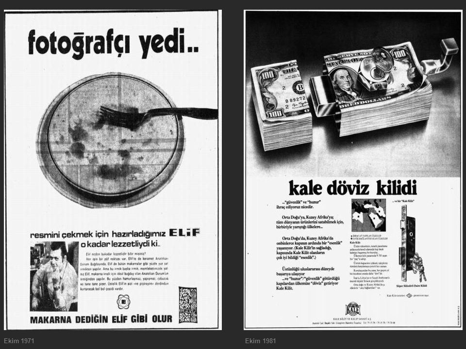 Ekim 1971 Ekim 1981