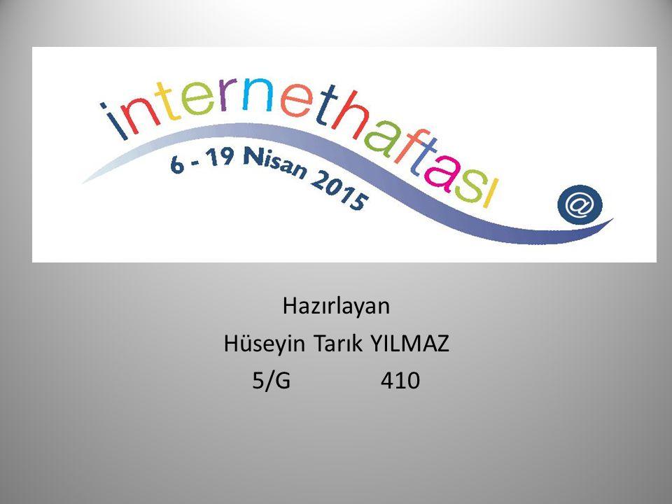 1.İnternet haftasının önemi.2.İzmir'de İnternet haftasında yapılan faaliyetler.