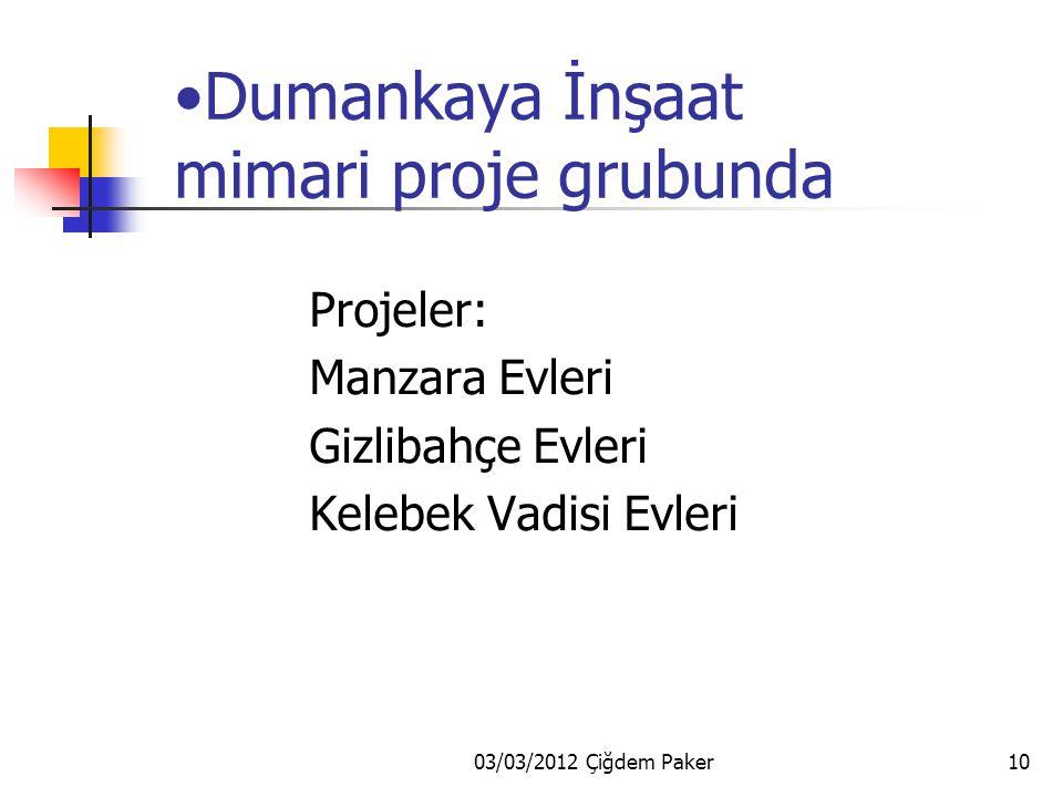 03/03/2012 Çiğdem Paker9 Ağaoğlu İnşaat Eltes Güneşi